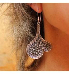 boucles d'oreilles argent 925