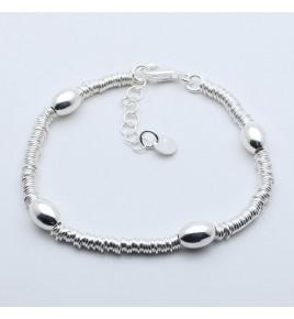 bracelet perles argent 925