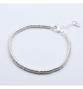 bracelet de perles argent 925