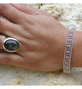 bracelet argent rhodié