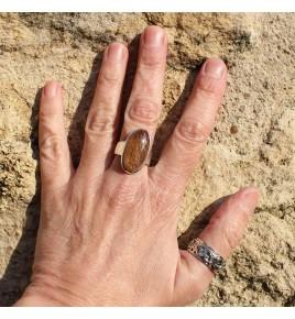 bague quartz rutile