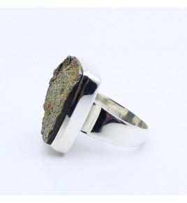 bague pyrite