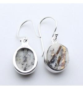 boucles pendantes astrophyllite