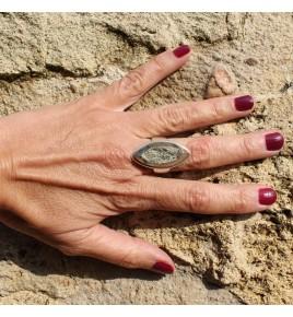 pyrite bague