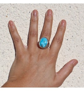 bague turquoise mohave