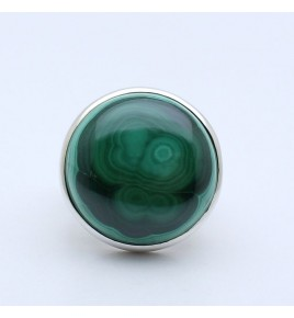 malachite bague