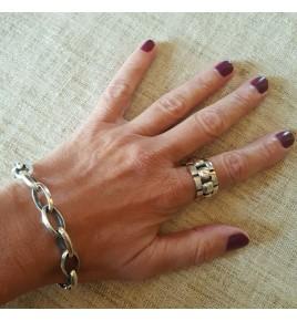 bracelet femme argent