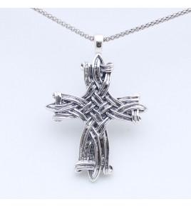 pendentif croix femme
