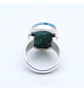 malachite chrysocolle bijoux