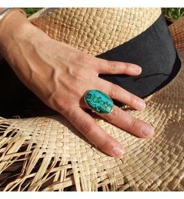 chrysocolle malachite bijoux