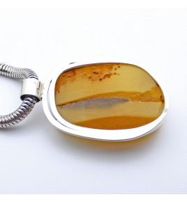 pendentif ambre