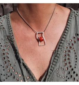 corail rouge pendentif