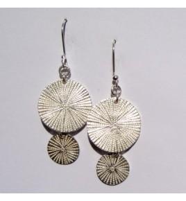 Boucles d'oreilles argent Akha BO302