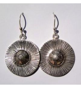 Boucles d'oreilles argent Akha BO284
