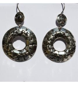 Boucles d'oreilles argent BO447