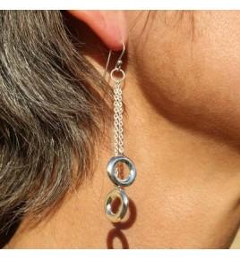 Boucles d'oreilles argent BO531