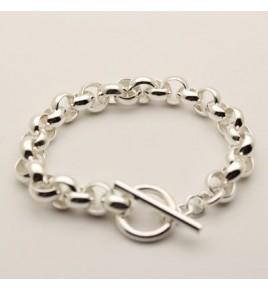 Bracelet jaseron argent BJ38