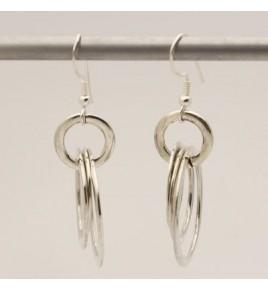 Boucles d'oreilles argent BO578