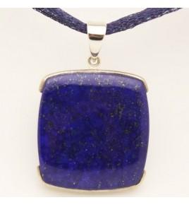 Pendentif argent et lapis lazuli PTF775