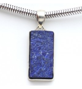 Pendentif argent et lapis lazuli PTF900