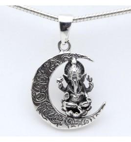 pendentif argent Ganesh