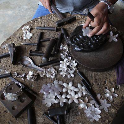 artisanat bijoux argent
